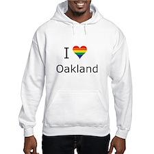 I Heart Oakland Hoodie Sweatshirt