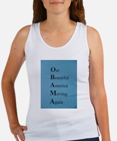 Obama- Our Beautiful America Moving Again Women's