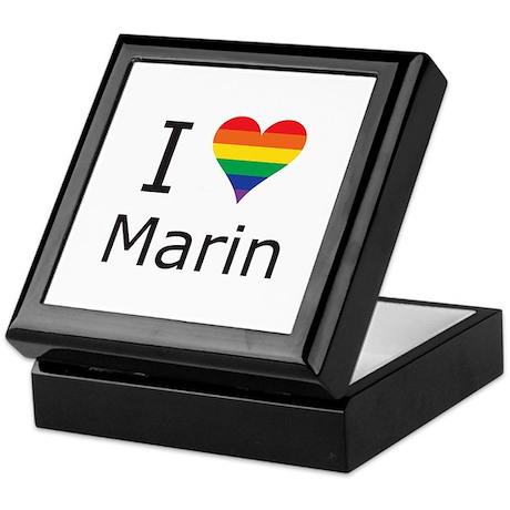 I Heart Marin Keepsake Box