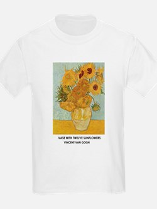 Vase with Twelve Sunflowers by Vincent van Gogh Ki