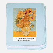 Vase with Twelve Sunflowers by Vincent van Gogh ba