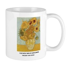 Vase with Twelve Sunflowers by Vincent van Gogh Mu