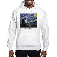 The Starry Night by Vincent van Gogh Hoodie