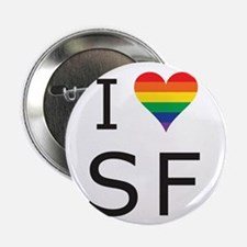 "I Heart SF 2.25"" Button"