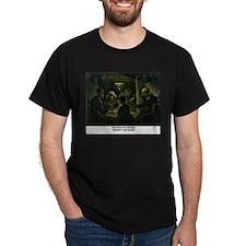 The Potato Eaters by Vincent van Gogh T-Shirt