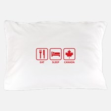 Eat Sleep Canada Pillow Case