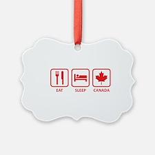 Eat Sleep Canada Ornament