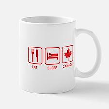 Eat Sleep Canada Mug