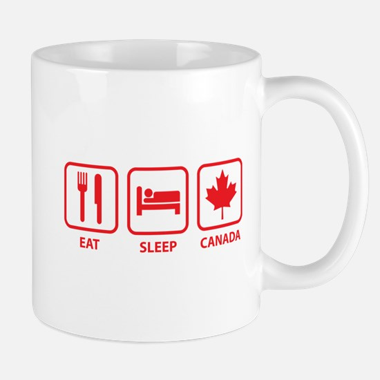 Eat Sleep Canada Mug