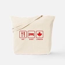 Eat Sleep Canada Tote Bag
