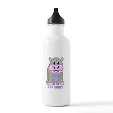 Bert The Hippo NCIS Water Bottle