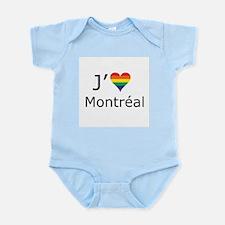 J'aime a Montreal Infant Bodysuit