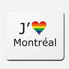 J'aime a Montreal Mousepad