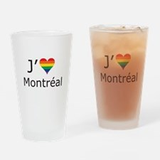 J'aime a Montreal Drinking Glass
