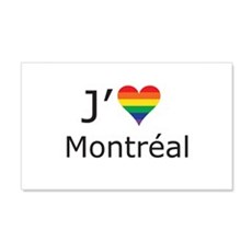 J'aime a Montreal Decal Wall Sticker