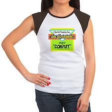 Call An Electrician/t-shirt Women's Cap Sleeve T-S