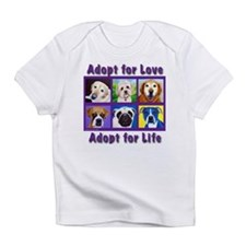 Adopt for Love, Adopt for Life Infant T-Shirt