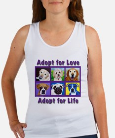 Adopt for Love, Adopt for Life Women's Tank Top