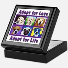 Adopt for Love, Adopt for Life Keepsake Box