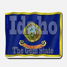 Idaho, The Gem State Mousepad