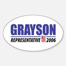 Grayson 2006 Oval Decal