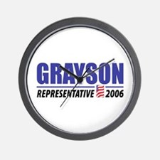 Grayson 2006 Wall Clock