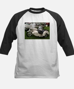 BMW Motorcycle with Sidecar Kids Baseball Jersey