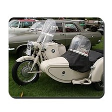 BMW Motorcycle with Sidecar Mousepad