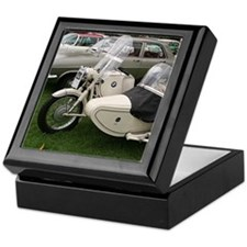 BMW Motorcycle with Sidecar Keepsake Box