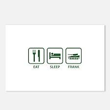 Eat Sleep Frank Postcards (Package of 8)