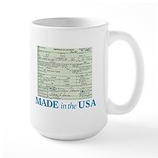 Barack Obama Made In The USA Birth Certificate Lar