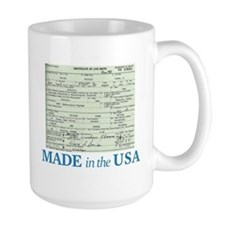 Barack Obama Made In The USA Birth Certificate Lar