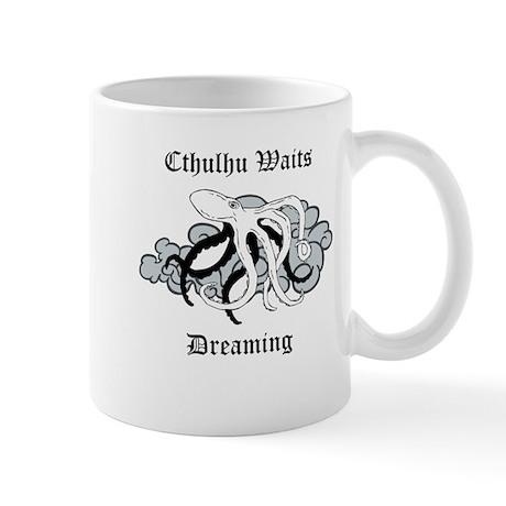 Cthulhu Waits Dreaming Mug