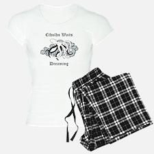 Cthulhu Waits Dreaming Pajamas