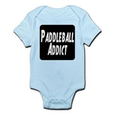 Paddleball Addict Infant Bodysuit