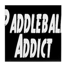 Paddleball Addict Tile Coaster