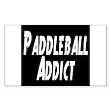 Paddleball Addict Decal