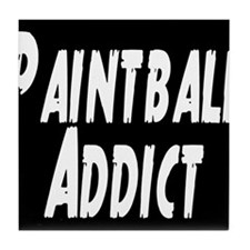 Paintball Addict Tile Coaster