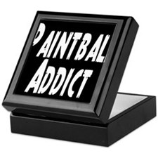 Paintball Addict Keepsake Box