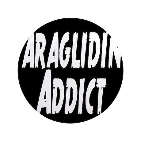 "Paragliding Addict 3.5"" Button"