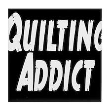 Quilting Addict Tile Coaster