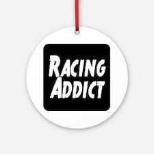 Racing addict Ornament (Round)