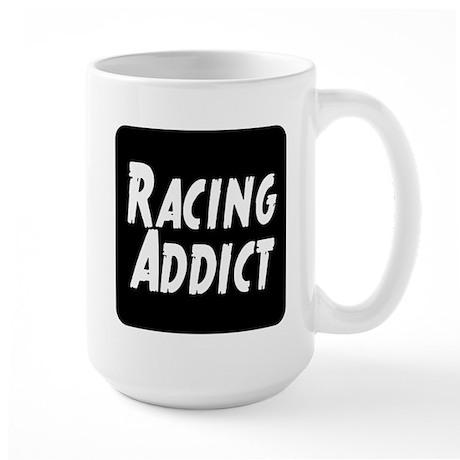 Racing addict Large Mug