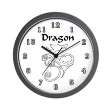 Tanya Dragon Wall Clock