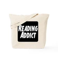 Reading addict Tote Bag