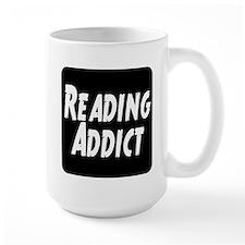 Reading addict Ceramic Mugs