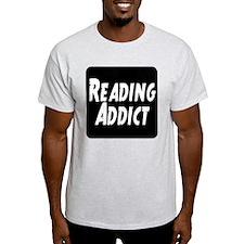 Reading addict T-Shirt