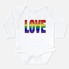 Love Is Never Wrong Long Sleeve Infant Bodysuit