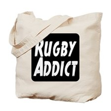 Rugby Addict Tote Bag