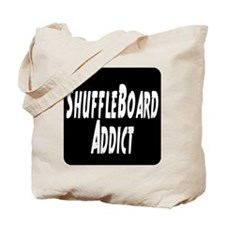 Shuffleboard Addict Tote Bag